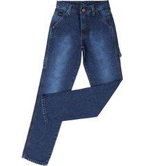 calça jeans carpinteira tradicional fast back masculina