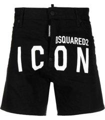 en commando shorts