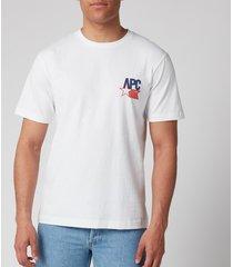 a.p.c. men's marcellus t-shirt - blanc - xxl