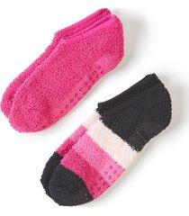 ankle slipper socks 2-pack