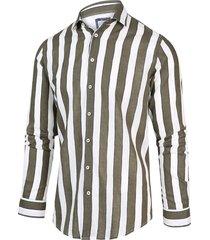 blue industry 2039.21 shirt army groen