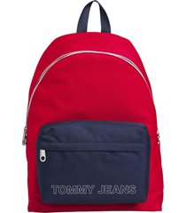 mochila logo tape dome multicolor tommy hilfiger