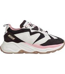 scarpe sneakers donna camoscio attack