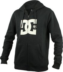 sweater dc shoes star-zip-up hoodie
