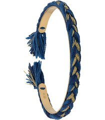 aurelie bidermann copacabana thin bracelet - blue