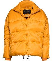 short technical jacket in solids with artworks fodrad jacka gul scotch & soda