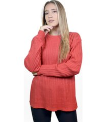 sweater coral a lo juana