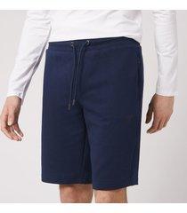 emporio armani men's bermuda jersey shorts - navy - s