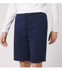emporio armani men's bermuda jersey shorts - navy - xl
