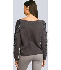 tröja alba moda mörkgrå