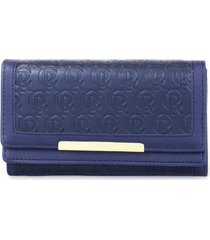 billetera amelie azul carven