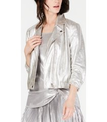 inc metallic jacket, created for macy's