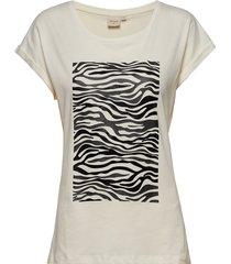 piacr t-shirt t-shirts & tops short-sleeved creme cream