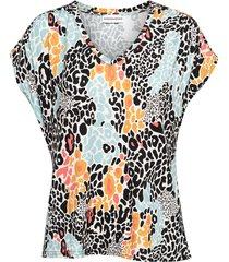 &co woman t-shirt t0139-a leopard