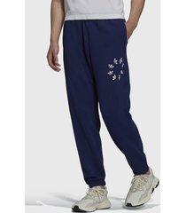pantalón de buzo adidas originals st sweat pant azul - calce regular