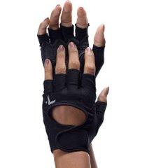 luvas para academia com polegar oxer training - adulto - preto