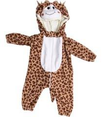 macacã£o pijama girafa marrom - marrom - dafiti