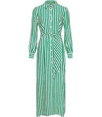 jurk gestreept groen