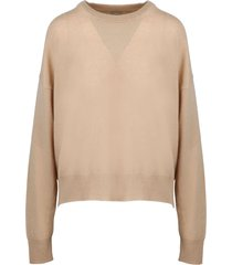 laneus over square sweater