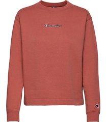 long sleeve t-shirt t-shirts & tops long-sleeved roze champion
