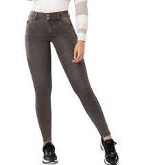 jeans colombiano push up plutón gris tyt jeans