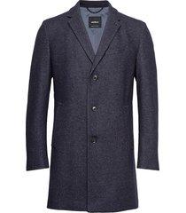 11 high street 10007682 wollen jas lange jas blauw strellson