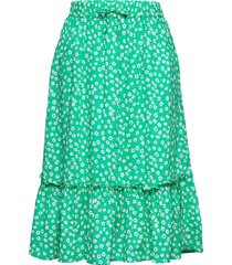 ditsy flower print skirt kjol grön tommy hilfiger