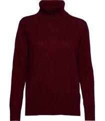 pullover ls turtleneck coltrui rood rosemunde