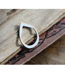 strzała- prosty srebrny pierścionek