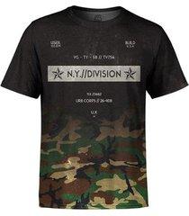 camiseta masculina camuflada degradê md03 - p - masculino