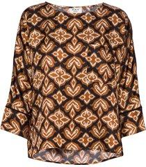 day forgivable blouse lange mouwen bruin day birger et mikkelsen