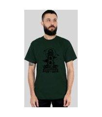 camiseta bleed american lighthouse verde musgo