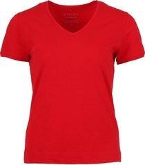 basic t-shirt rood