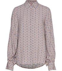 kristin star blouse lange mouwen roze line of oslo
