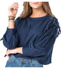 buzo lois azul  para mujer croydon