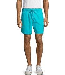 drawstring waistband swim shorts