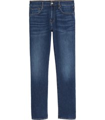 7 for all mankind adrien slim fit straight leg jeans, size 42 in delos at nordstrom