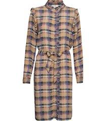 lota dress knälång klänning multi/mönstrad minus