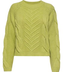 sille blouse stickad tröja grön storm & marie