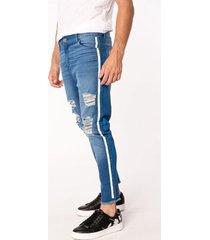 jean azul tascani skinny troel