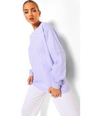 acid wash gebleekt shirt met lange mouwen, lilac