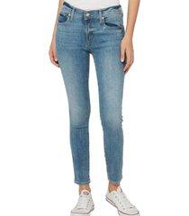 jeans true skinny light indigo azul gap