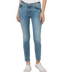 jeans true skinny light indigo azul gap