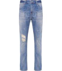 calça masculina skinny kauai - azul