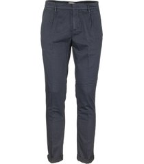 dondup gaubert stretch cotton and linen pants trosers