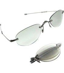 unisex sunglasses folded lori greiner oval metal  0535