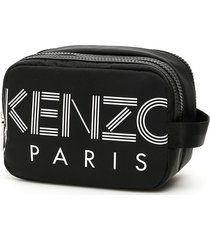 kenzo logo pouch