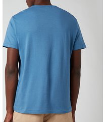 polo ralph lauren men's crewneck t-shirt - delta blue - xxl