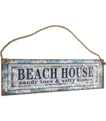 american art decor beach house hanging sign