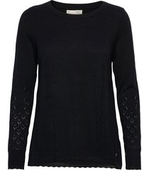 sim sweater gebreide trui zwart odd molly